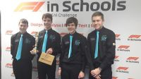 The Castle School Thornbury's Professional F1 in Schools Team are South West Regional Champions 2019