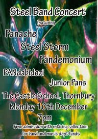 Steel Band Concert - Monday 10 December